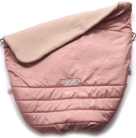 Warme zubindbare Decke Pinkie Pink Camo