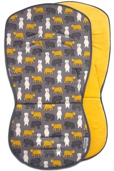 Sitzeinlage Yellow Bear