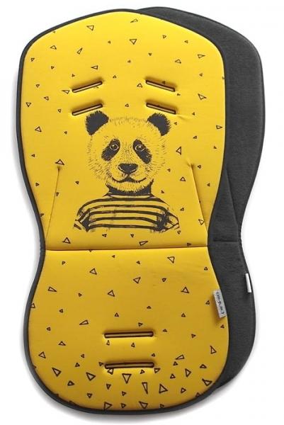 Sitzeinlage Mister Panda Ochre