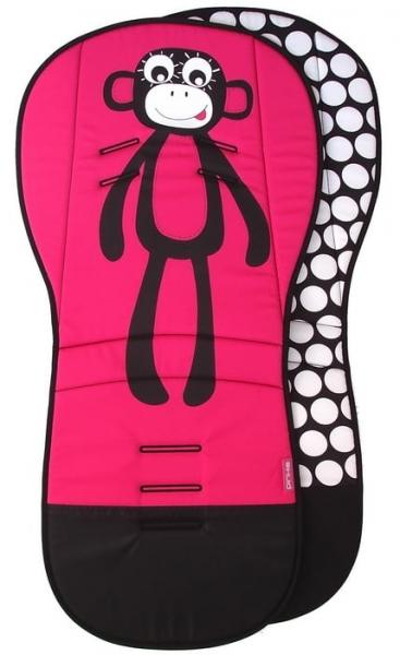 Verlängerte Sitzeinlage Pink Monkey