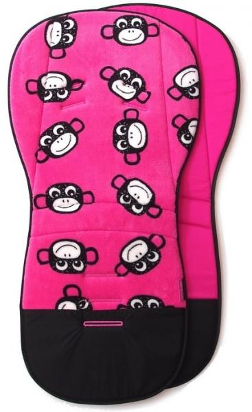 Verlängerte Sitzeinlage Monkey Pink