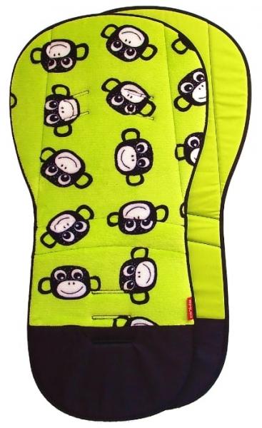Verlängerte Sitzeinlage Monkey Green
