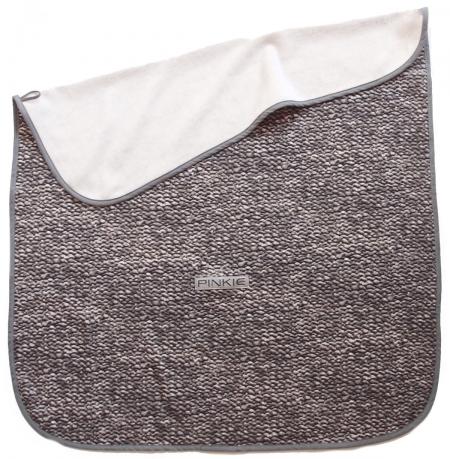 Decke Pinkie Soft Grey