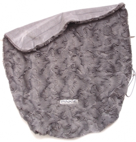 Zubindbare Decke Fur Grey