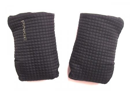 Handschuhe Little Square Black