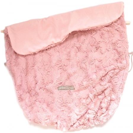 Zubindbare Decke Fur Soft Pink