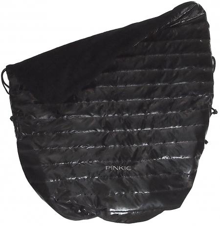 Warme zubindbare Decke Black Line