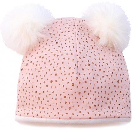 Mütze Pink Dots Bobble