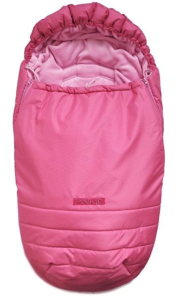 Winterfußsack Pinkie Pink Plain