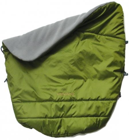 Warme zubindbare Decke Pinkie Green