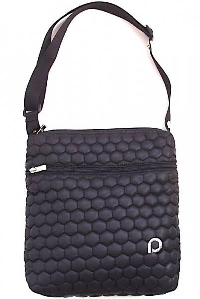 Kleine Wickeltasche Big Comb Black- Crossbody