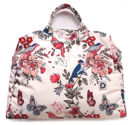 Wickeltasche Blue Birds M