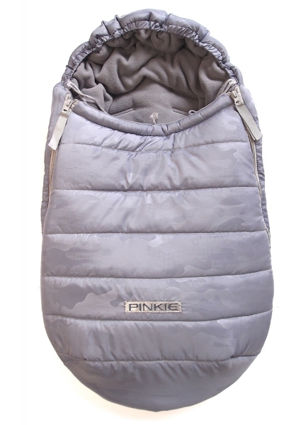 Winterfußsack Grey Camo 0-12 Monate