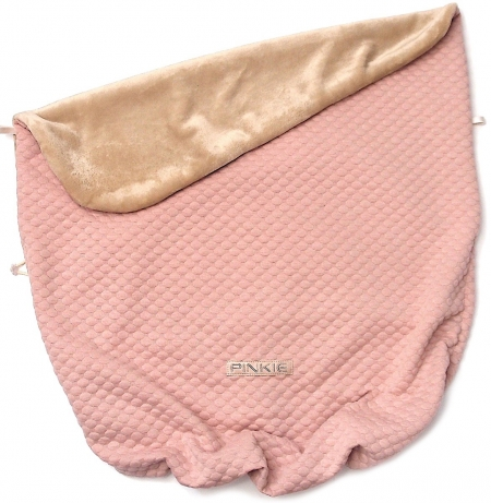 Zubindbare Decke  Circle Pink