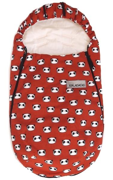 Dünner Fußsack Panda Terra BIO