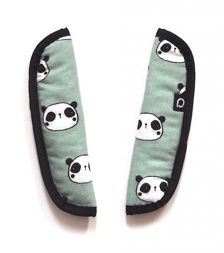 Gurtpolster  Panda Mint