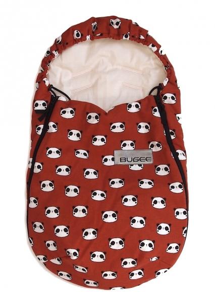 Fußsack Bugee Panda Terra 0-12 Monate