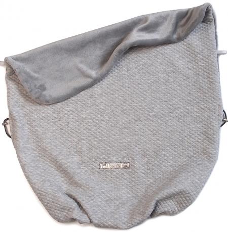 Zubindbare Decke  Diamond Light Grey