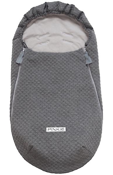 Dünner Fußsack Circle Grey