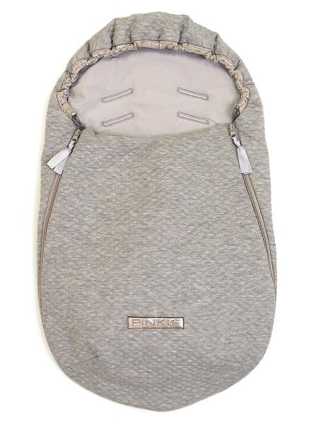 Fußsack  Diamond Light Grey 0-12 Monate