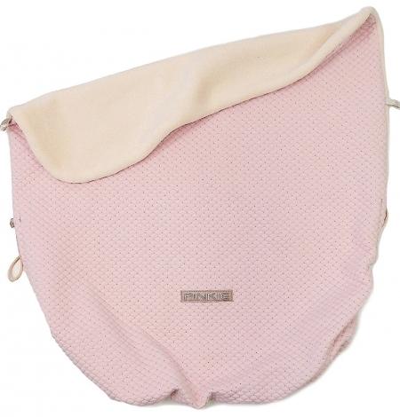 Zubindbare Decke  Diamond Light Pink