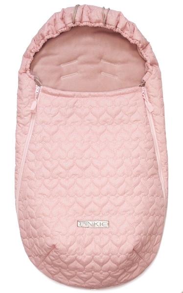 Dünner Fußsack Pinkie Shine Heart