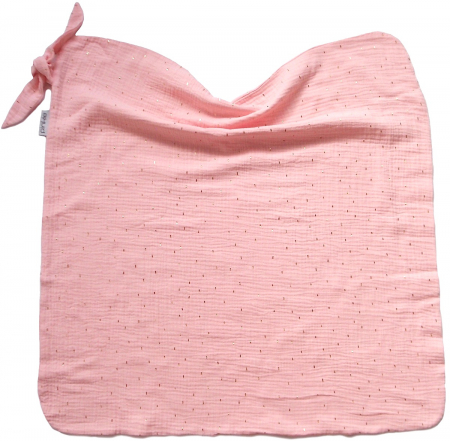 Sommerdecke  Pinkie Muslin Light Pink