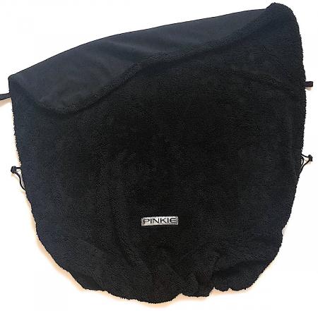 Zubindbare Decke  Pinkie Soft Black