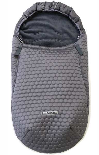 Dünner Fußsack Big Comb Grey