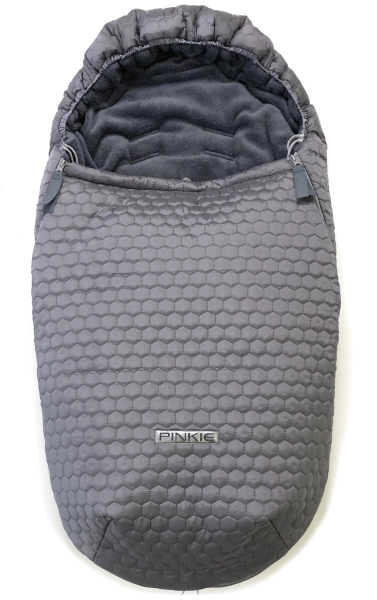 Winterfußsack Big Comb Grey
