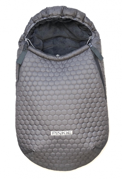 Winterfußsack Big Comb Grey 0-12