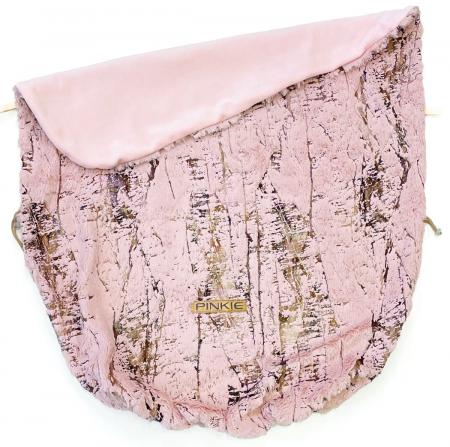 Zubindbare Decke Fur Gold Pink