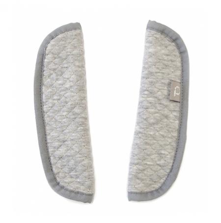 Gurtpolster Diamond Light Grey