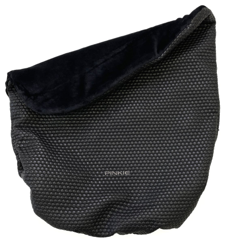 Warme zubindbare Decke  deka Black Comb
