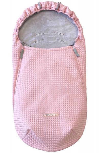 Dünner Fußsack  Small Pink Comb