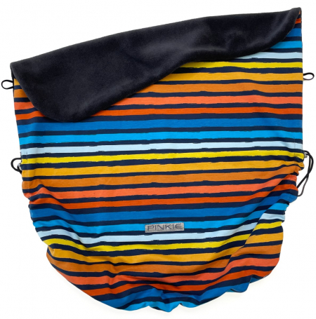 Zubindbare Decke  Pinkie Stripes