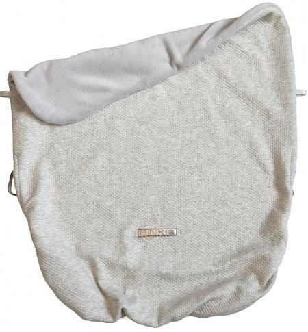 Zubindbare Decke  Grey Quilt