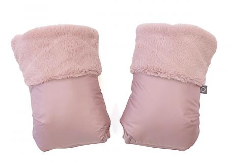 Handschuhe  Fur Pink