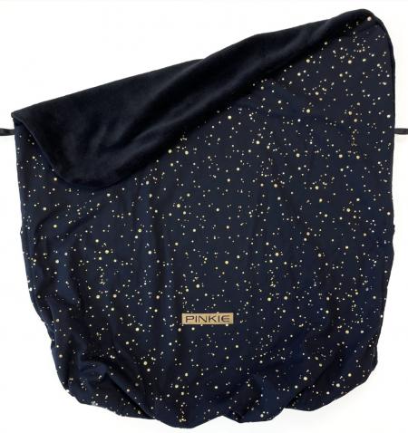 Zubindbare Decke  Shine Gold Black