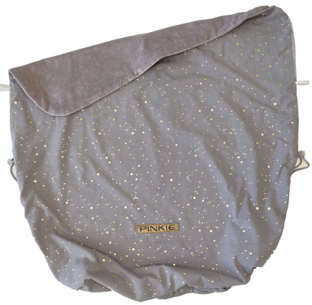 Zubindbare Decke  Shine Gold Grey