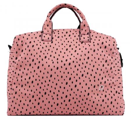 Wickeltasche Softshell Dots Pink M