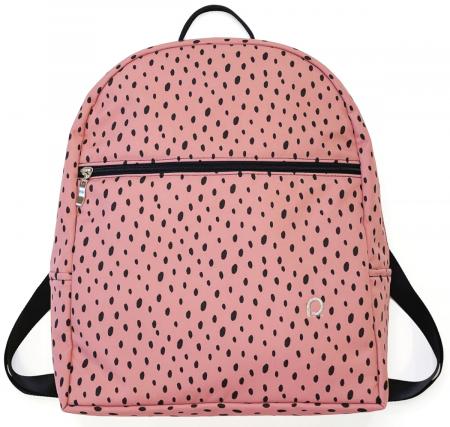 Wickelrucksack Bugee Softshell Dots Pink