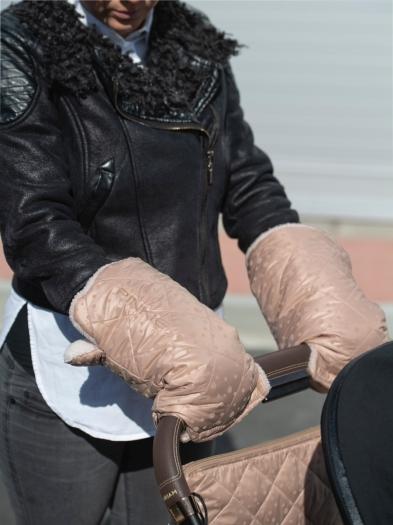 Handschuhe  Soft Pink Dots