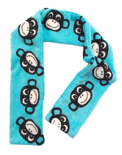 Schal Monkey Turquoise