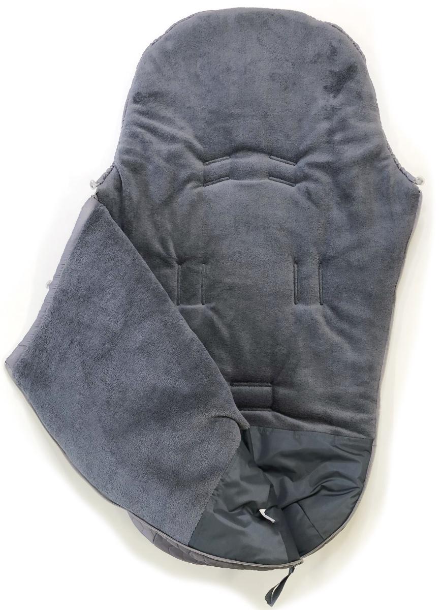 kliknutít zobrazíte maximální velikost obrázku Winterfußsack Big Comb Grey