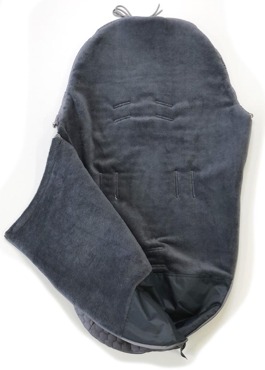 kliknutít zobrazíte maximální velikost obrázku Dünner Fußsack Big Comb Grey