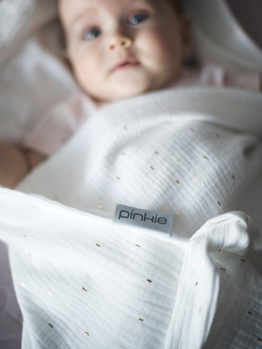 kliknutít zobrazíte maximální velikost obrázku velká plena Pinkie Muslin White