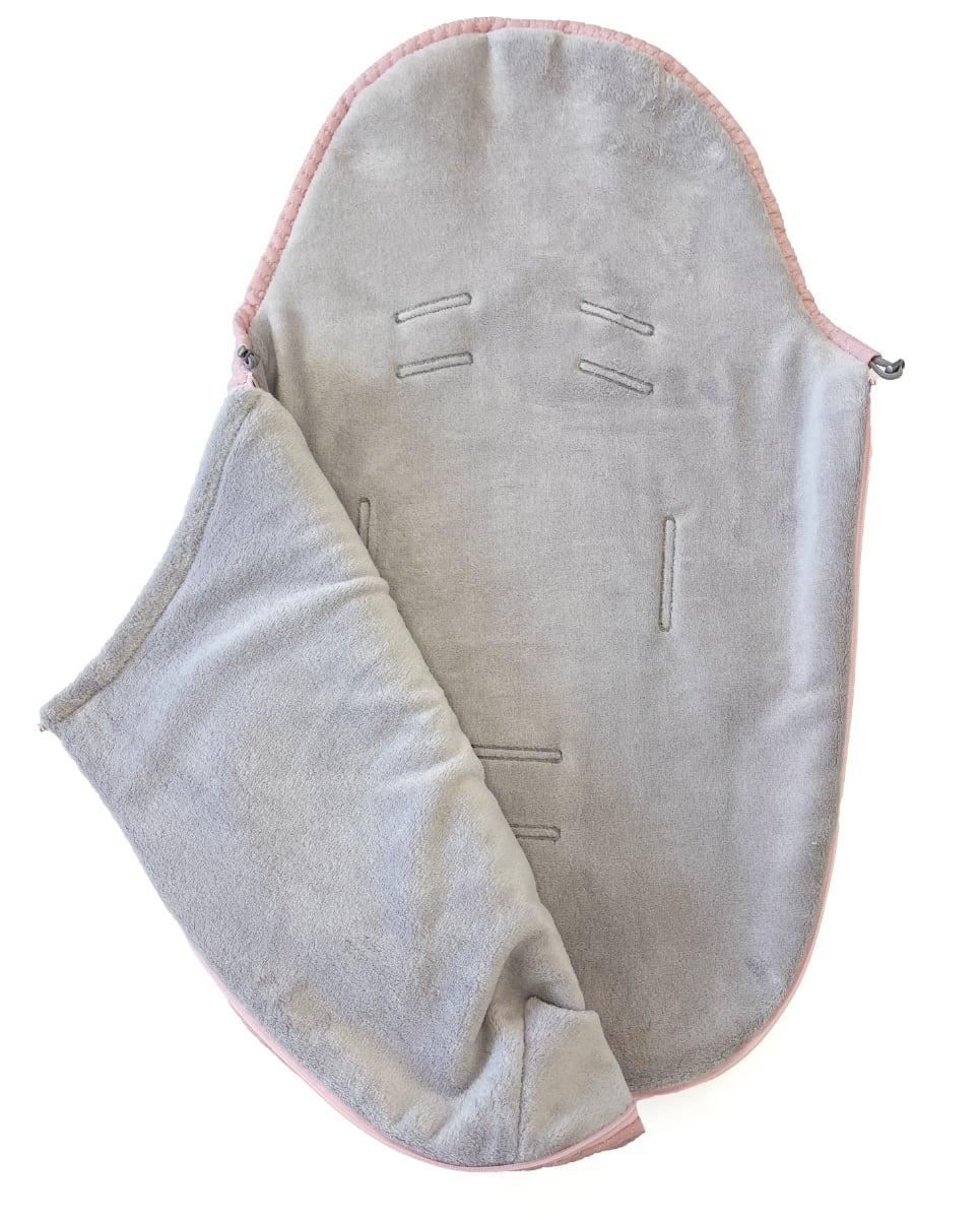 kliknutít zobrazíte maximální velikost obrázku Dünner Fußsack Small Pink Comb 0-12 Monate
