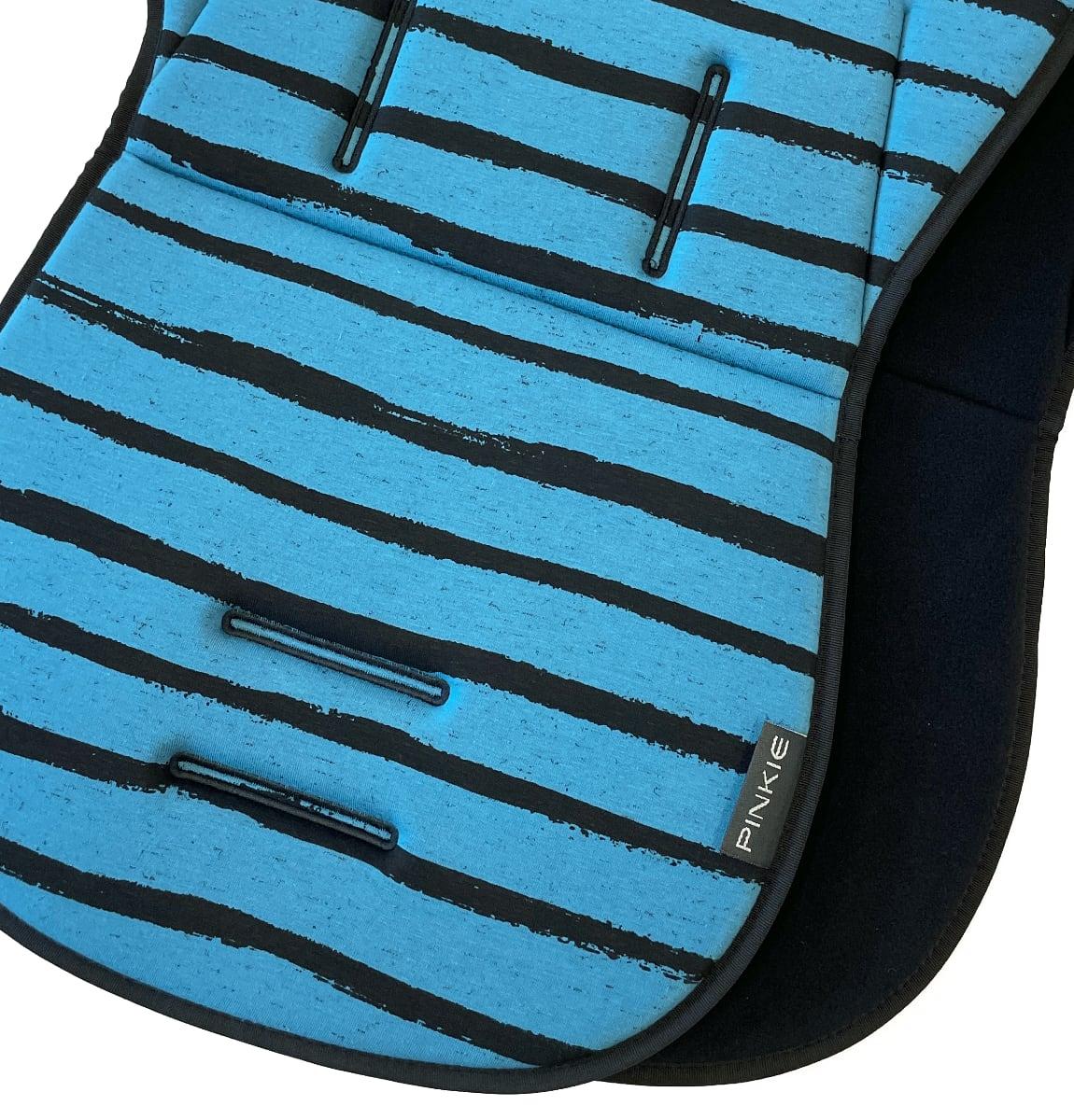 kliknutít zobrazíte maximální velikost obrázku Sitzeinlage Pinkie Stripe Blue
