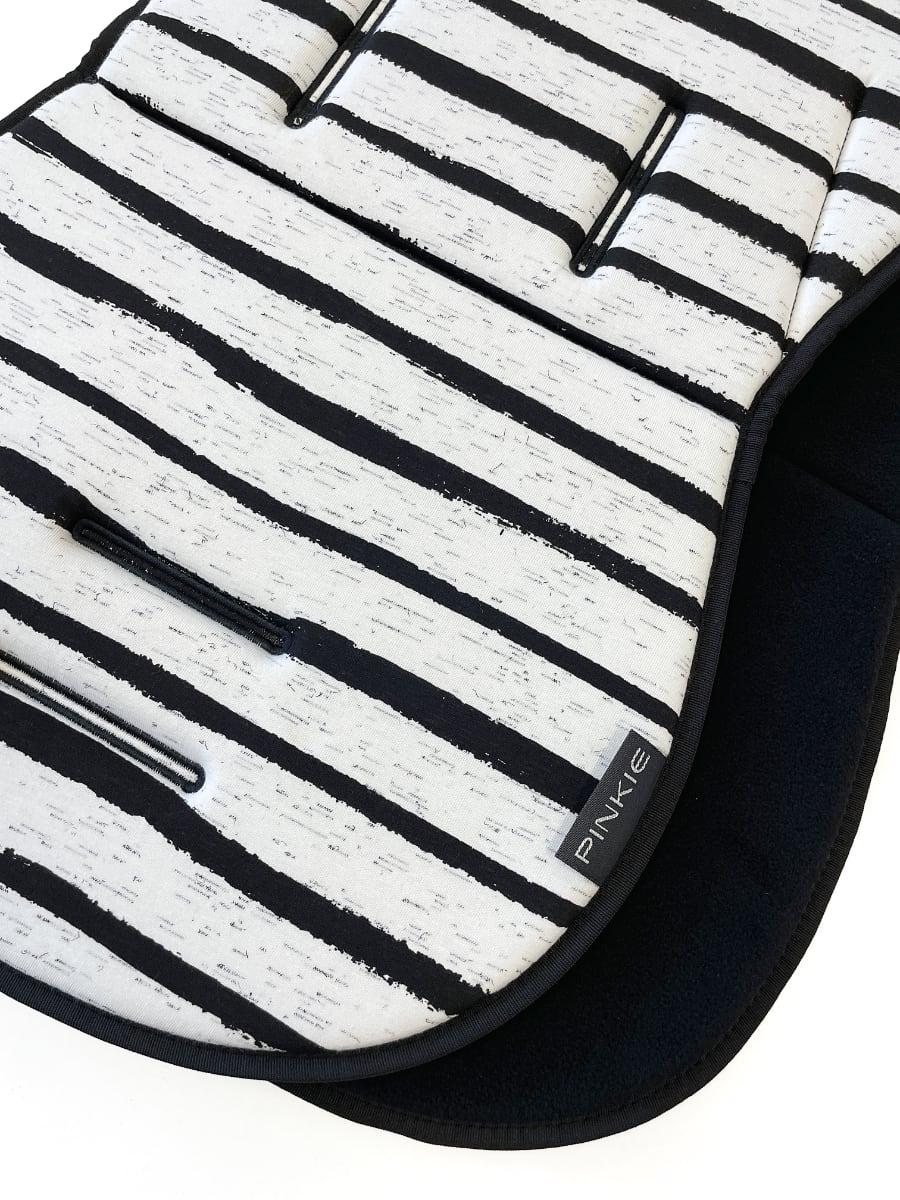 kliknutít zobrazíte maximální velikost obrázku Sitzeinlage Pinkie Stripe White